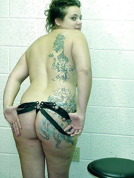 Chubby brunette nude-5169