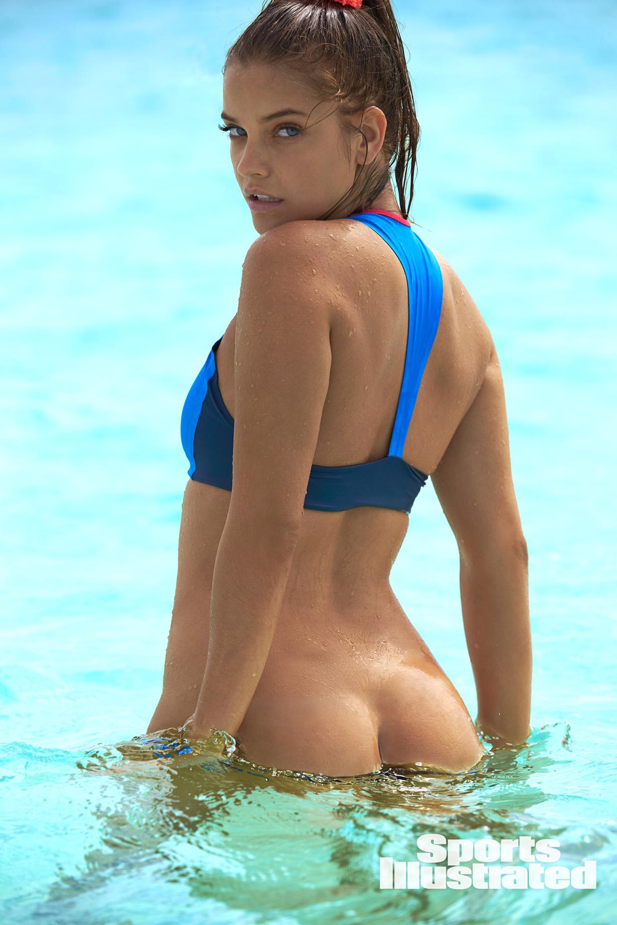 Barbara Palvin / Барбара Палвин в купальниках из новой коллекции Sports Illustrated Swimsuit 2018 issue / in the Bahamas by Ben Watts