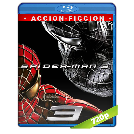 descargar El Hombre Araña 3 720p Lat-Cast-Ing 5.1 (2007) gartis