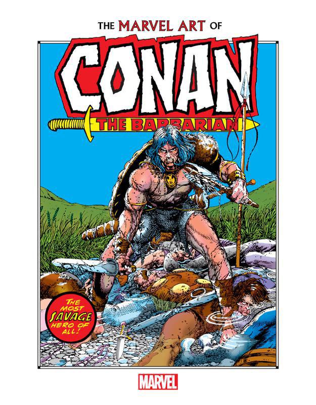 Marvel Art of Conan the Barbarian (2019)
