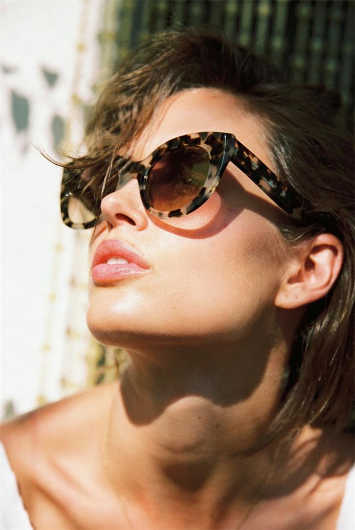 DBlanc Eyewear summer 2018 / Johanne Landbo by Cameron Hammond