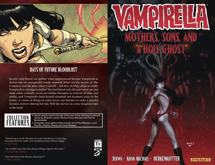 Vampirella v05 - Mothers, Sons, and a Holy Ghost (2014)