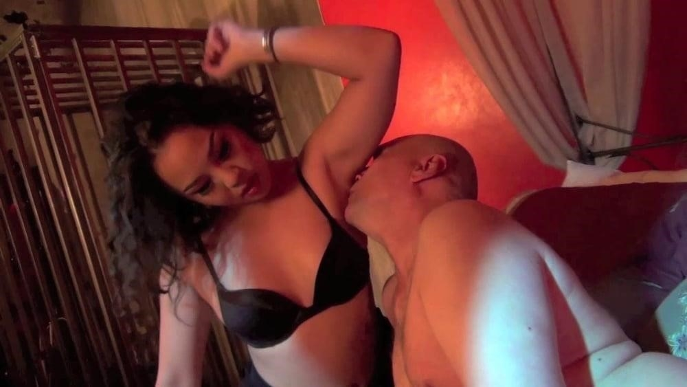 Armpit licking slave-4620