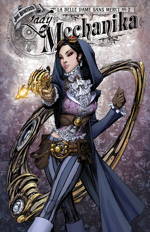 Lady Mechanika - La Belle Dame sans Merci #1-3 (2018)