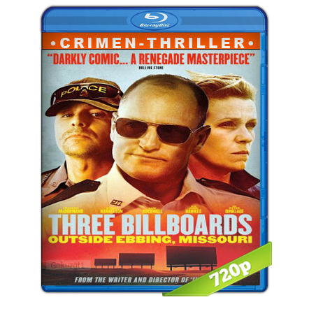 Tres Anuncios Por Un Crimen 720p Lat-Cast-Ing[Crimen](2017)