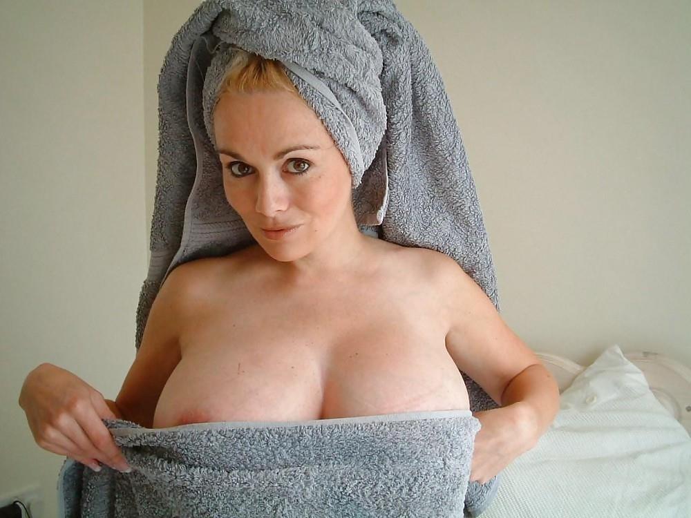 Mompov hot big tits blonde milf in first porn-8827
