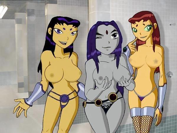 Teen titans terra porn comic-2190