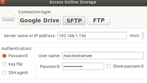 10 9, SFTP in Ubuntu 18 04 2, Key Exchange Failure