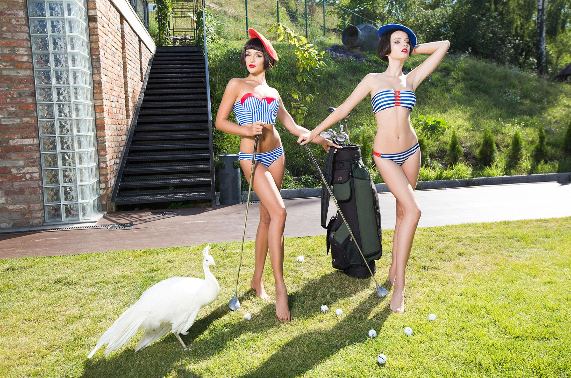 Купальники и нижнее белье Black Bunny, коллекция 2017 года / фотограф Соня Плакидюк