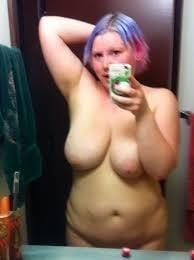 Naked fat girl selfies-5188