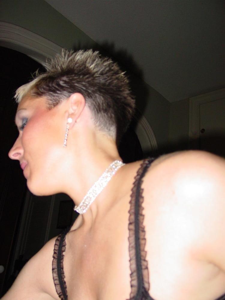 Short hair blond porn-6873