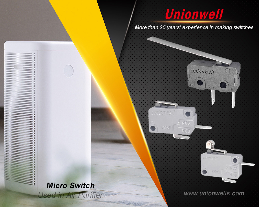 Huizhou Unionwell Technology Co., Ltd Launches High-Precision Micro Switches With Fashion Designed And Used For A Variety Of Electrical Protection Technologies