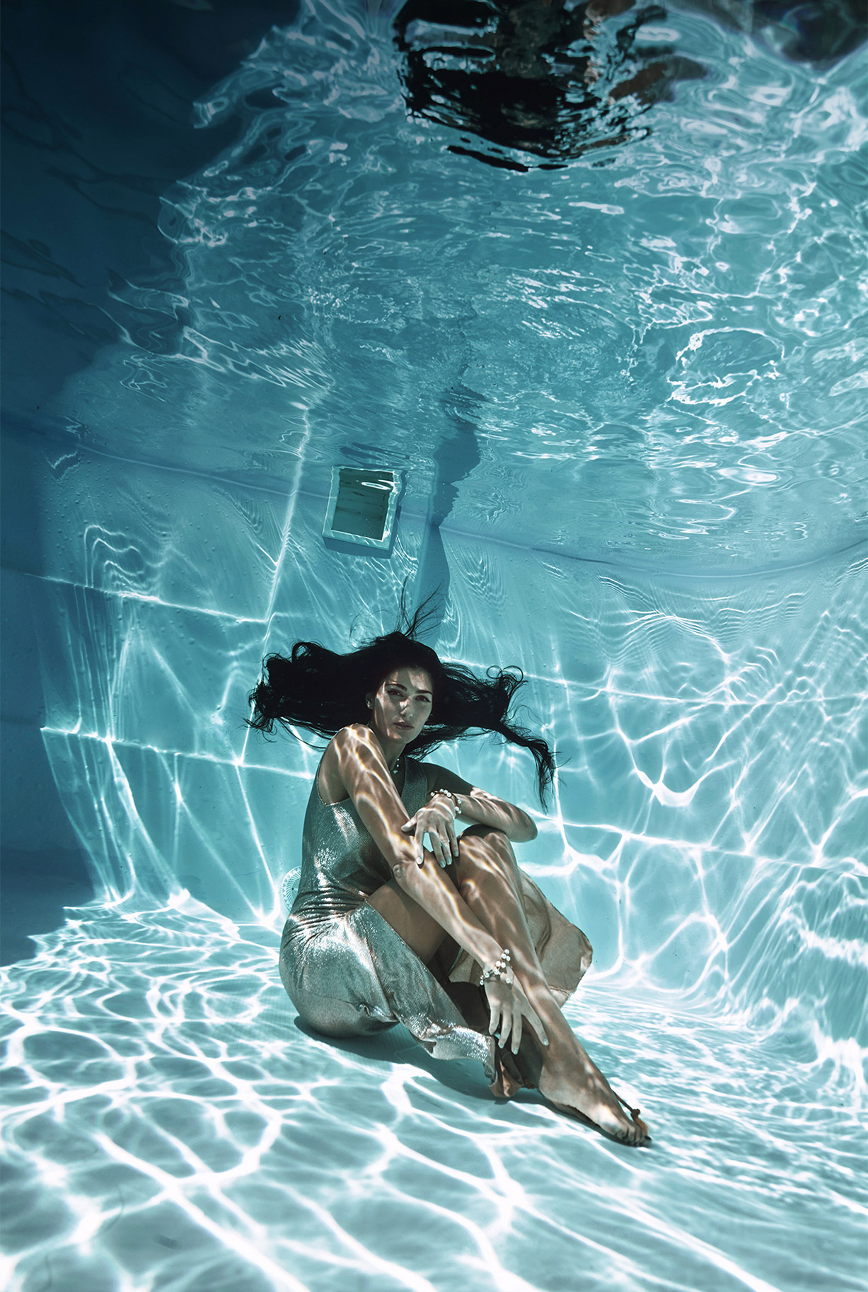 Ольга Джарти под водой / фото 06