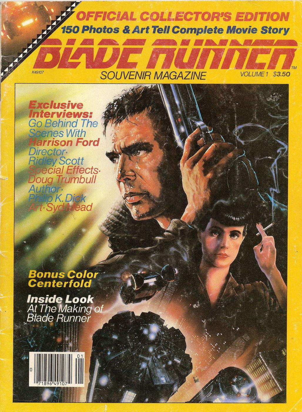 Blade Runner Souvenir Magazine (1982) VmaRFwMN_o