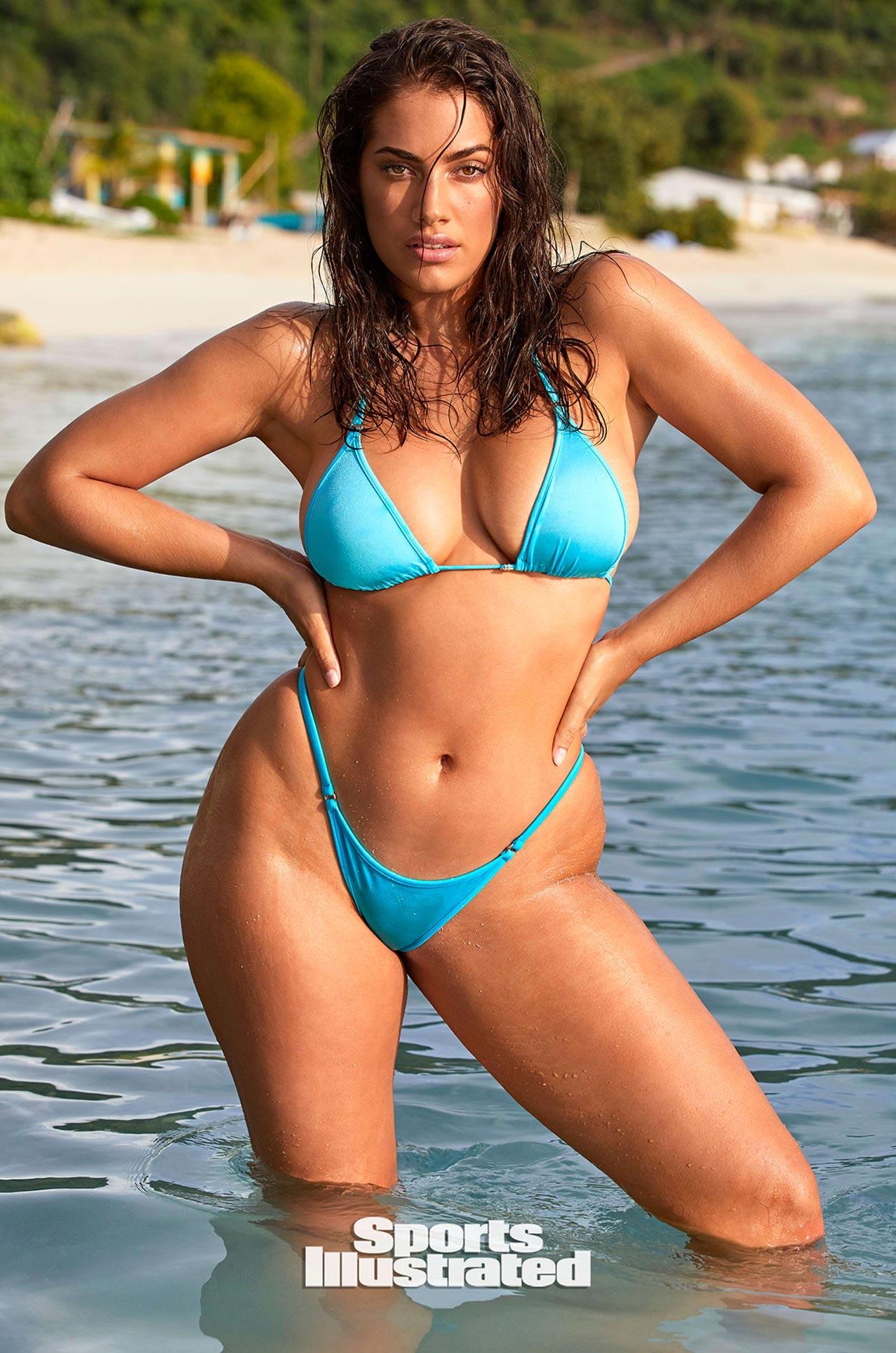 Лорена Дюран в каталоге купальников Sports Illustrated Swimsuit 2020 / фото 08
