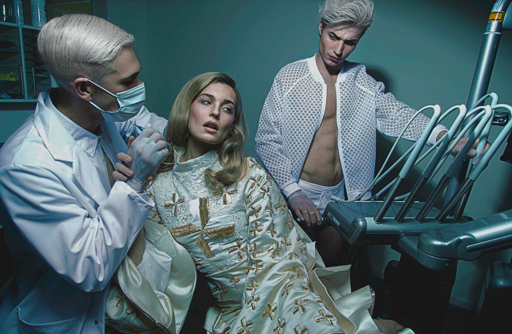 Dentist / Felice Fleur, Stijn de Jongh, Jack Fenenga by Jasper Suyk