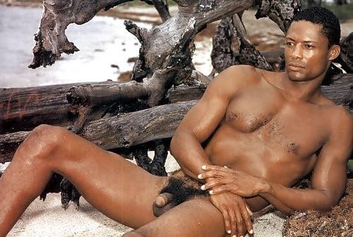 Black men naked penis-6156