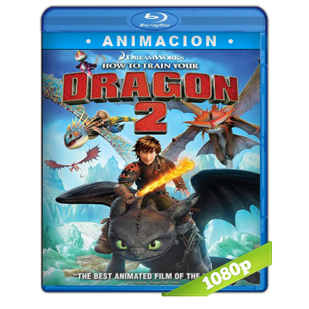 Como Entrenar A Tu Dragon 2 1080p Lat-Cast-Ing[Animacion](2014)