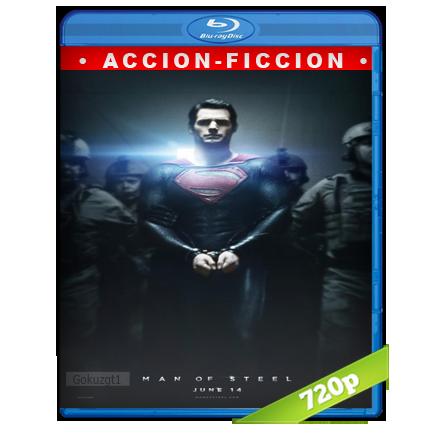 El Hombre De Acero 720p Lat-Cast-Ing[Ficcion](2013)