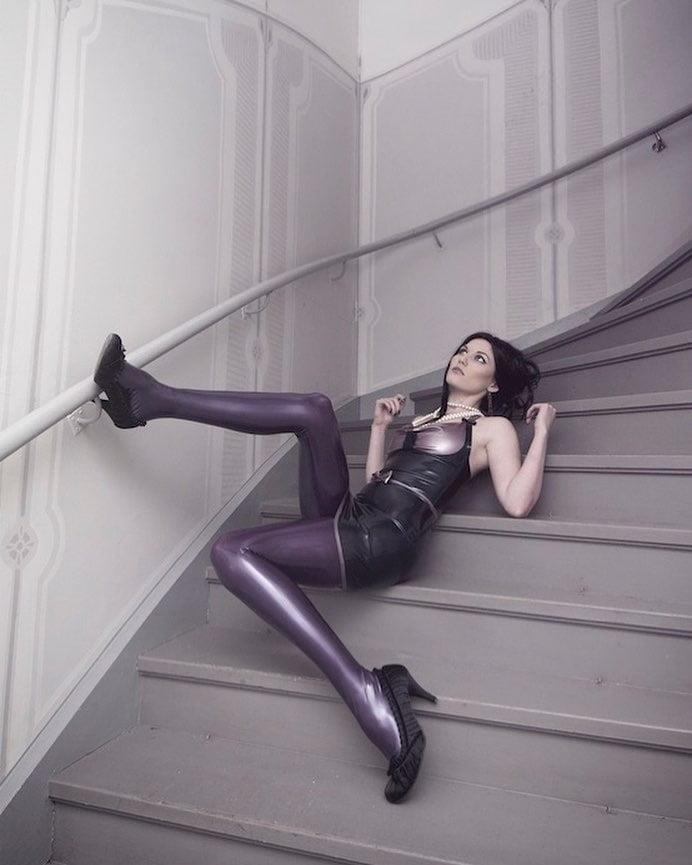 Latex stockings porn pics-2717