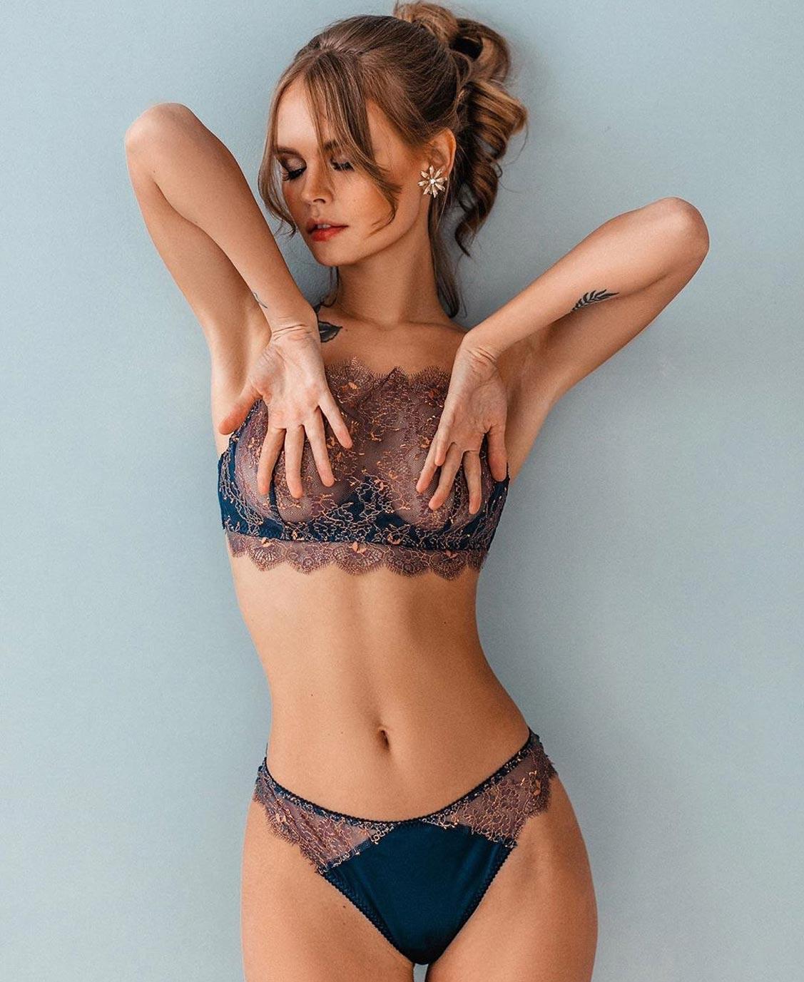 Анастасия Щеглова в нижнем белье торговой марки MissX / фото 40