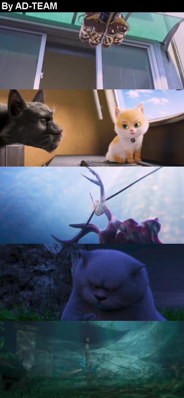 Cats and Peachtopia 2019 BRRip XviD AC3 LLG