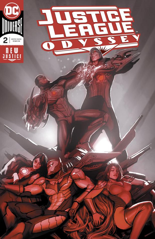 Justice League Odyssey #1-3 (2018-2019)